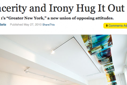Jerry Saltz on to something?