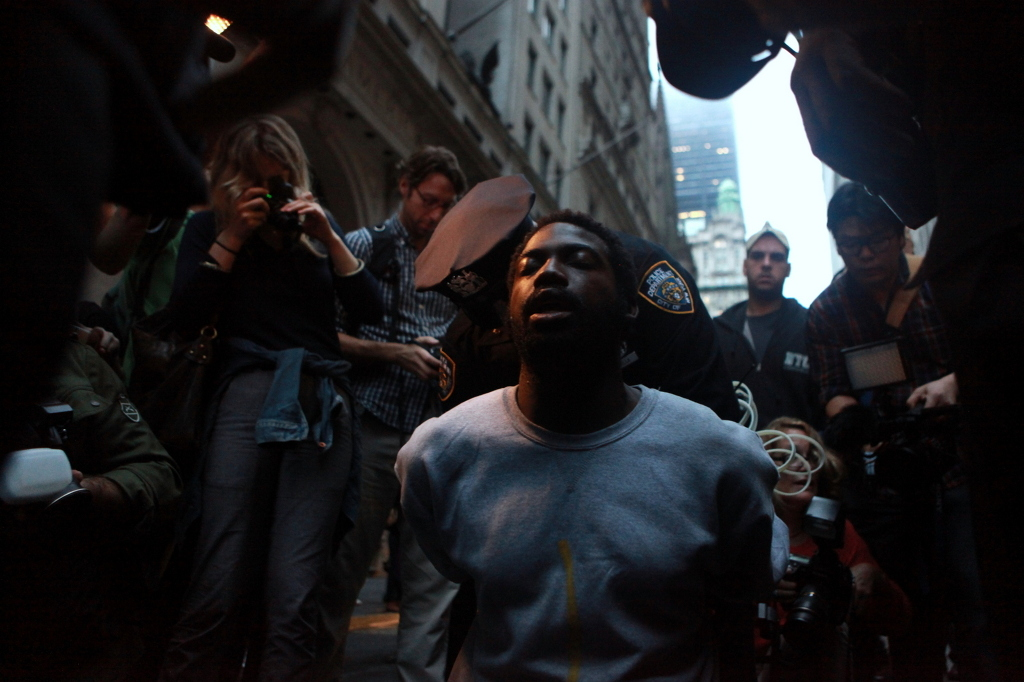 From the series 'Occupy Wall Street'