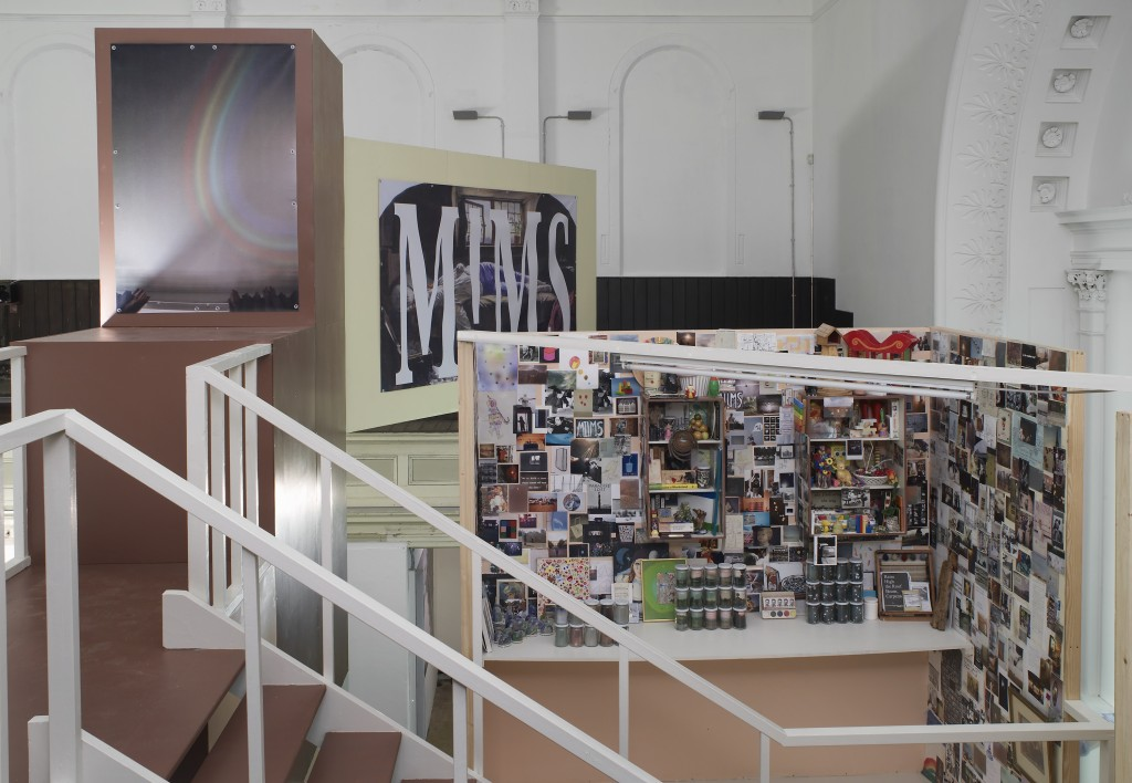 Andy Holden, Towards a Unified Theory of MIMS, Zabludowicz collection, installation view 2013